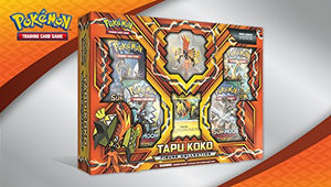 Pokemon Tapu Koko Figure Collection Box