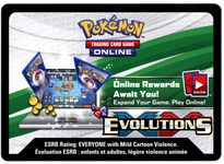 Pokemon TCG Online Booster Code -XY Evolutions