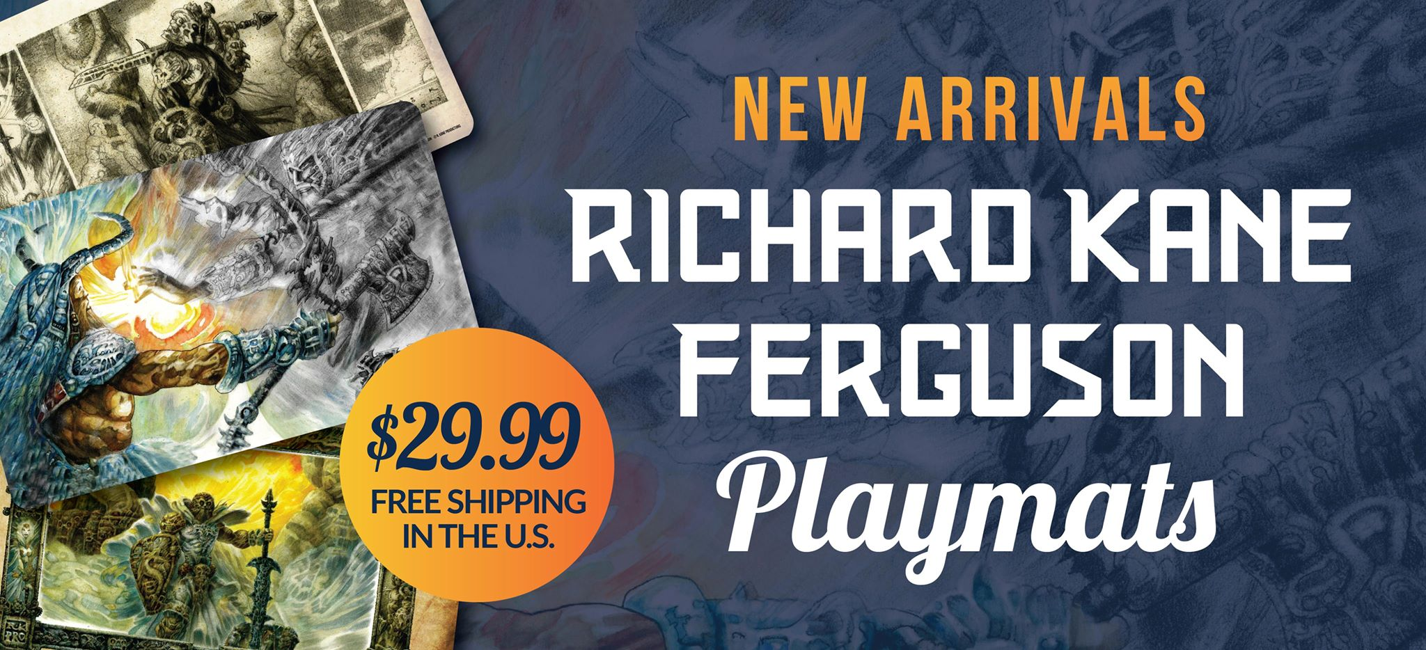 Richard Kane Ferguson Playmats