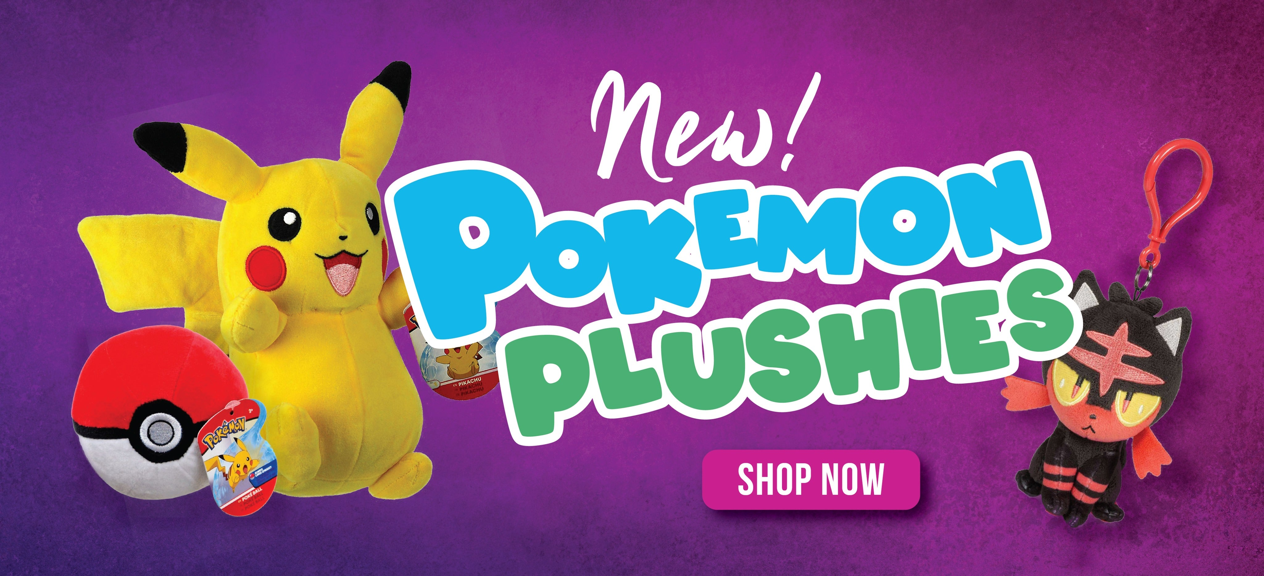 Wicked Cool Toys Pokemon Plushie