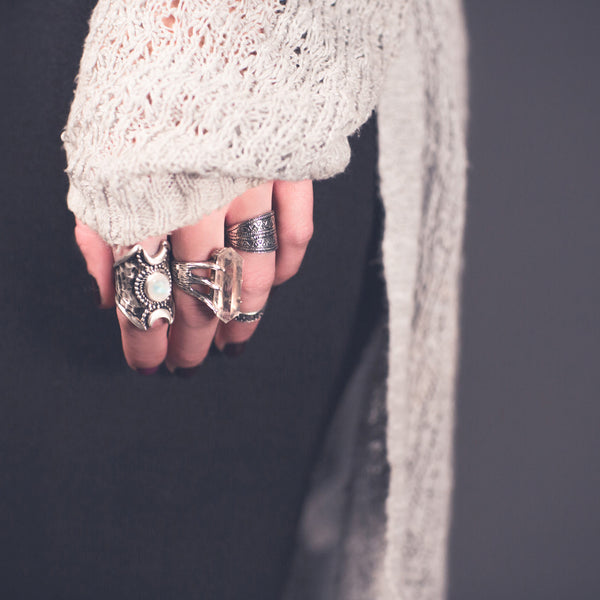 So Many Roads Ring | Sterling Silver | TRIBE Jewelry