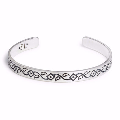 Stacking Cuff | Silver / Henna | TRIBE Jewelry