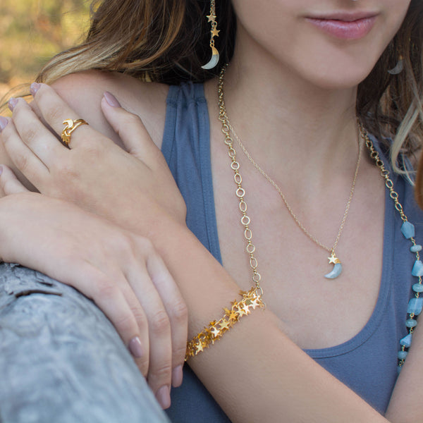 Stardust Bracelet | Gold | TRIBE Jewelry by Sarah Lewis