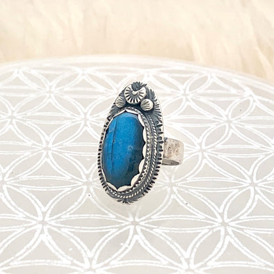 Labradorite Love Ring ~ 1