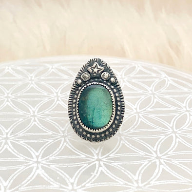 Labradorite Love Ring ~ 2