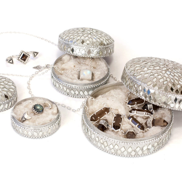 Mirrored Jewelry Box | TRIBE Jewelry | Gift & Home