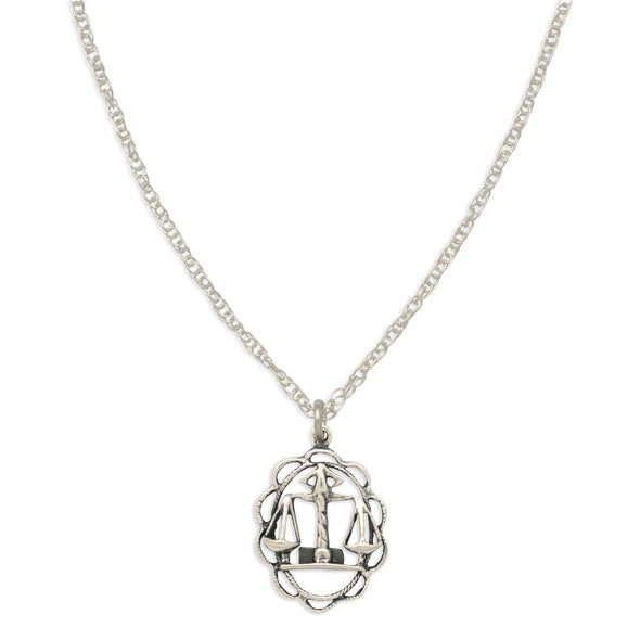 ZODIAC CHARM NECKLACE | LIBRA