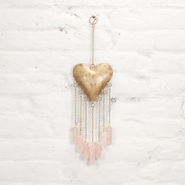 Feel The Love Wall Ornament & Wind Chime | Tribe Bohemian Home Decor
