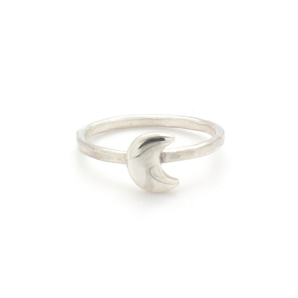 Moon Stacking Ring | Silver | TRIBE Jewelry by Sarah Lewis