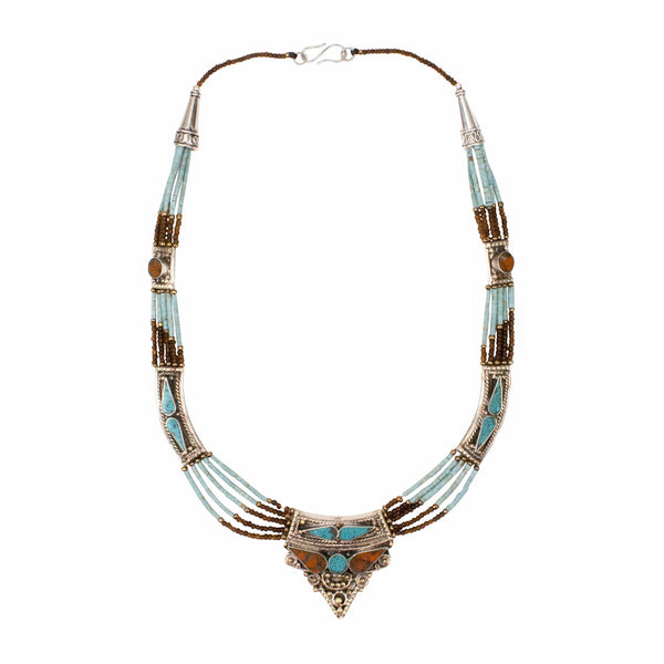 Tashi Necklace | Tribe Gathered Jewelry Collection