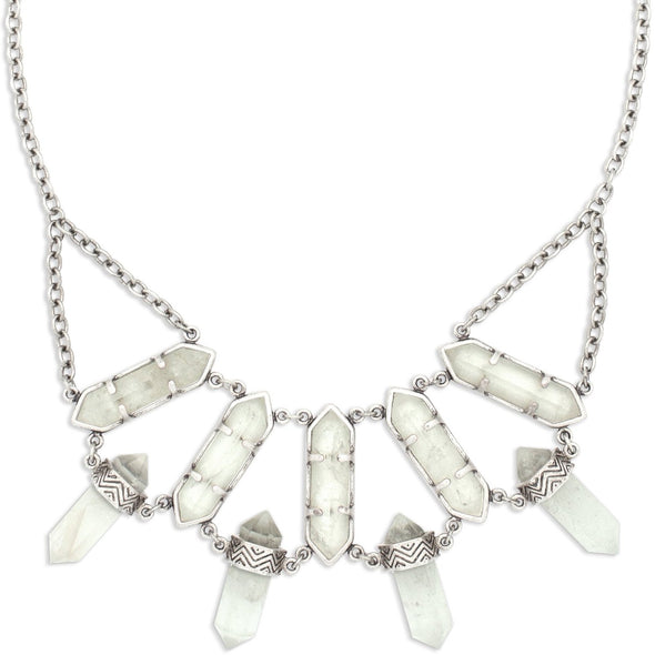 Lonna Love Necklace | Silver