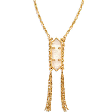 Prana Crystal Necklace | Small / Gold