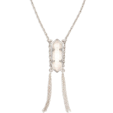 Prana Crystal Necklace | Small / Silver