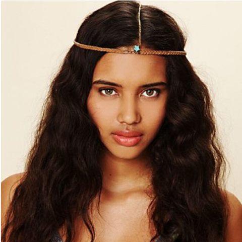 Braided Suede Hairpiece | TRIBE Jewelry