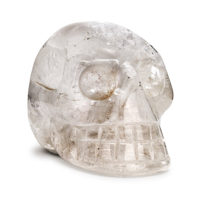 Crystal Skull | Quartz | TRIBE Gift & Home