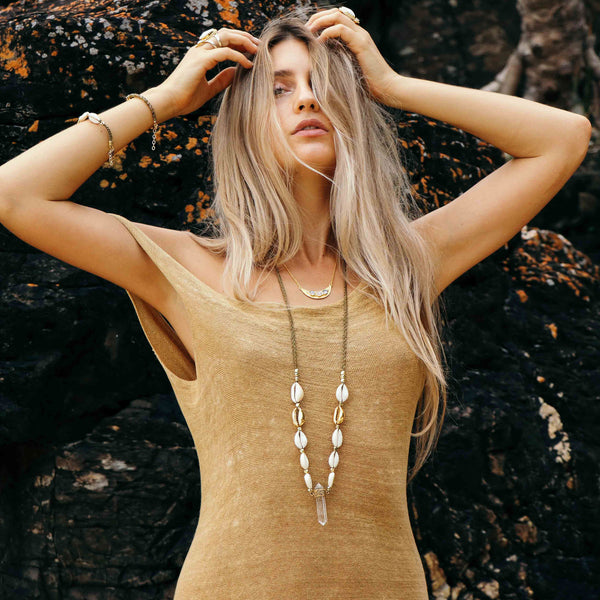Playa Necklace | Gold | TRIBE Jewelry