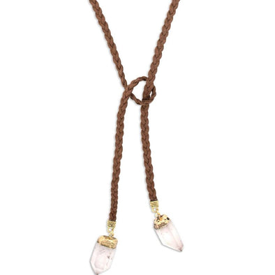 Wild West Lariat Necklace | Gold
