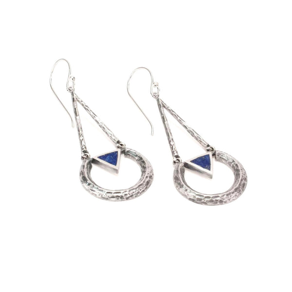 Eclipse Earring | Lapis | TRIBE Jewelry