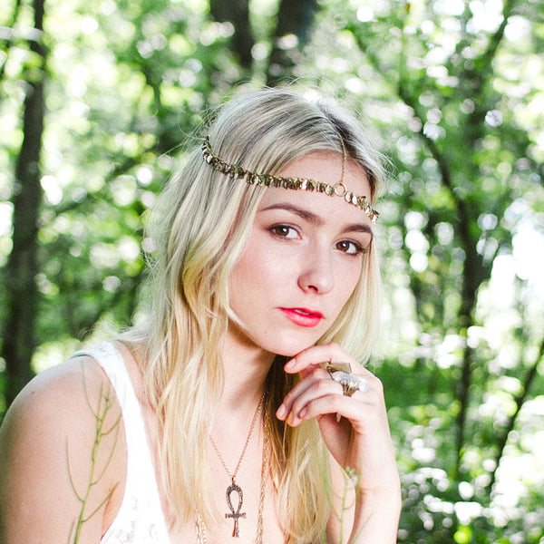 Golden Leaf Hairpiece | TRIBE Jewelry