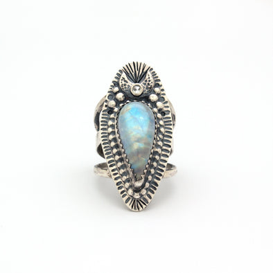 Eclipse Moonstone Ring Series 5