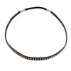 Studded Leather Hairpiece | Black | TRIBE Jewelry
