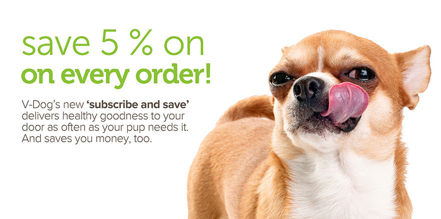 Save 5% on every order! Subscribe and save.