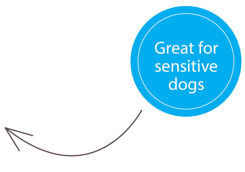 Great for Sensitive dogs