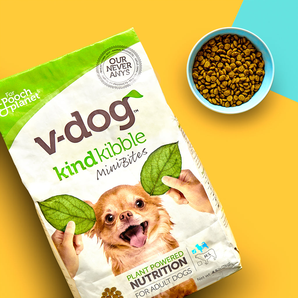 v-dog kind kibble mini bites