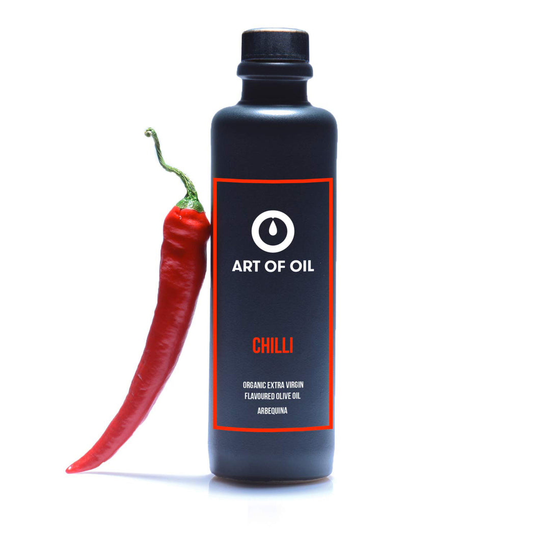 CHILLI - Natives Olivenöl Extra mit dezenter Chilinote - Bio - 200ml