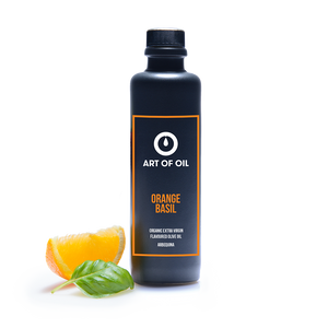 ORANGE BASIL - Natives Olivenöl Extra mit Orange und Basilikum - Bio - 200ml