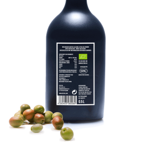 9 Stück BIO - Natives Olivenöl Extra - STRONG 500ml (4,5L)