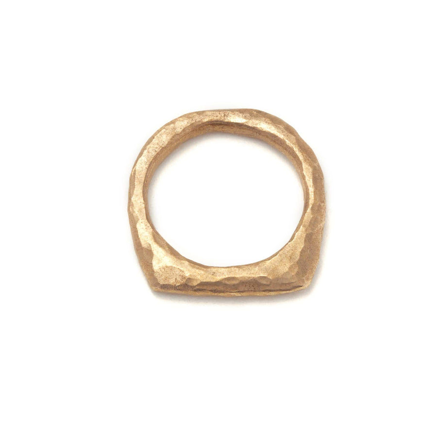 Hammered Slice Ring - Julie Cohn Design