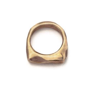 jewelry Noguchi Bronze Ring JCR10 Julie Cohn Design Artisan Bronze Jewelry Handmade