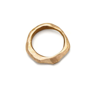 jewelry Organic Bronze Band JCR2 Julie Cohn Design Artisan Bronze Jewelry Handmade