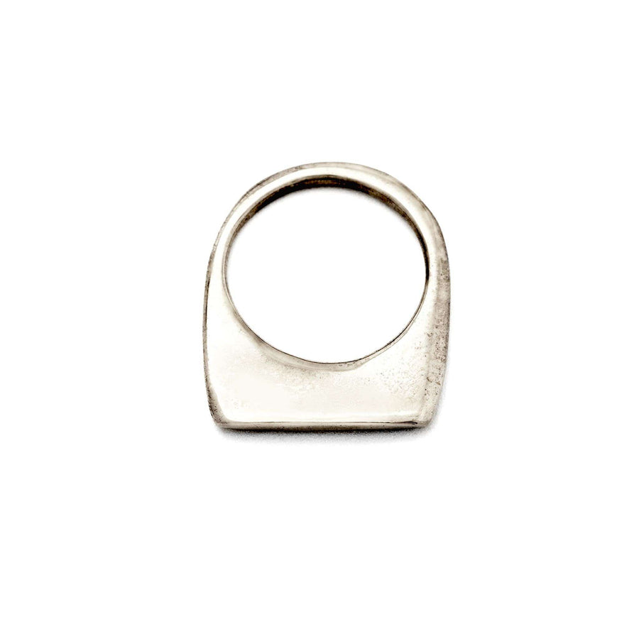Sterling Polished Slice Ring - Julie Cohn Design