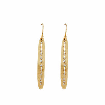 Julie Cohn Design Spear Bronze Earring