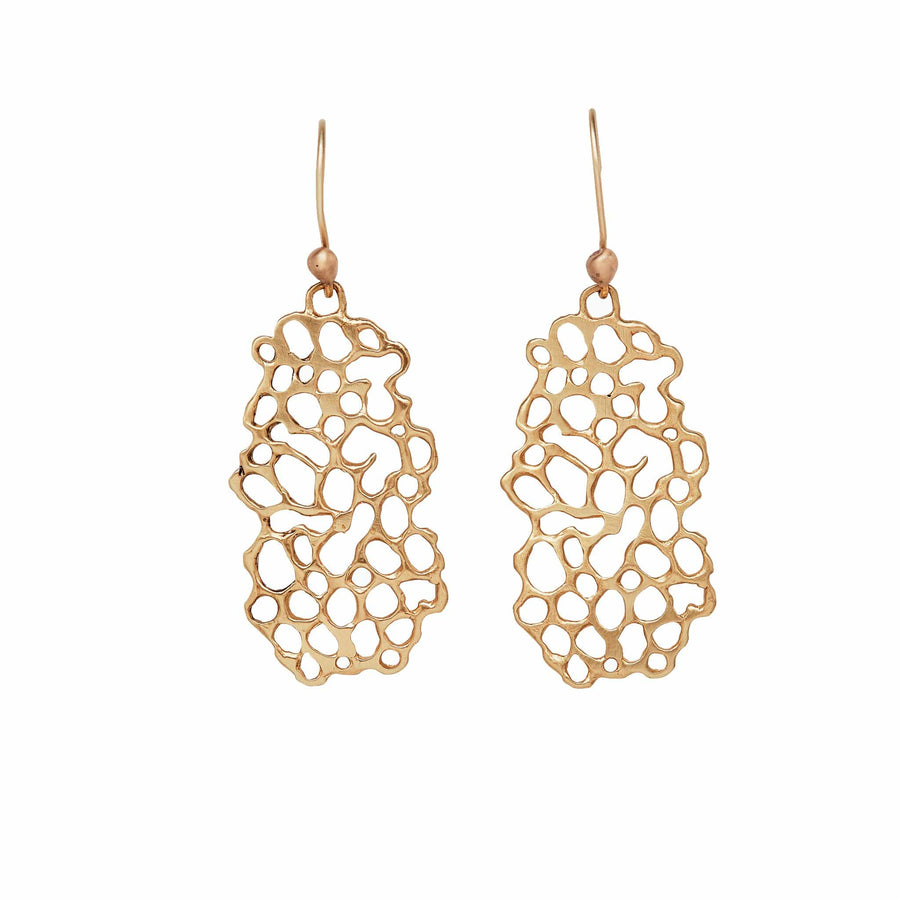 Julie Cohn Design Bronze Molecule Earring