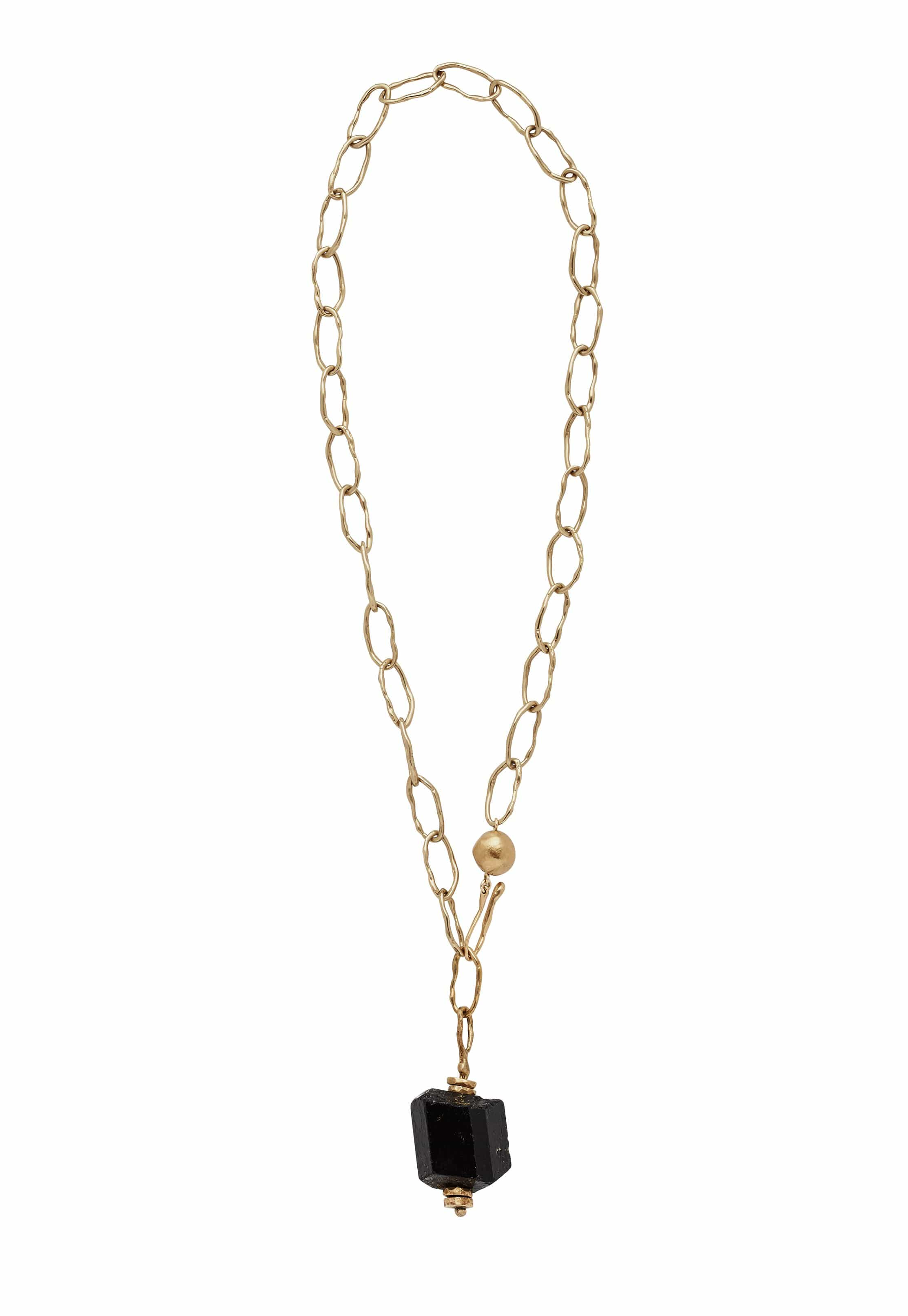 Greco Chain Ink Necklace