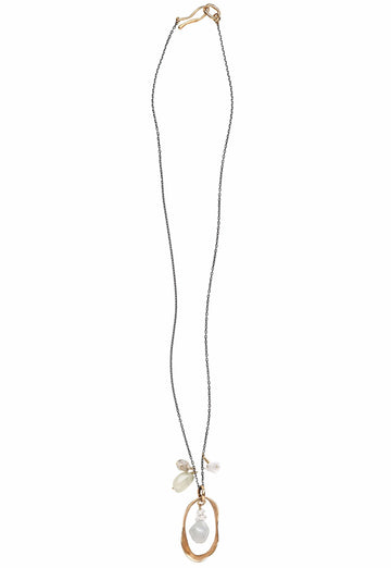 Air Charm Necklace - Julie Cohn Design
