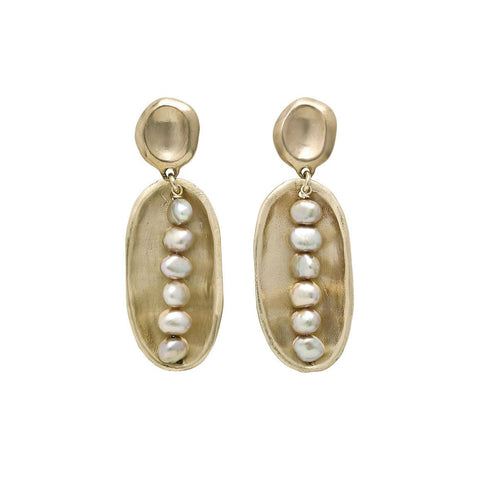 Lega Pink Pearl Earrings