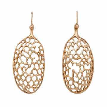 Julie Cohn Design. Bronze Pod Earrings.