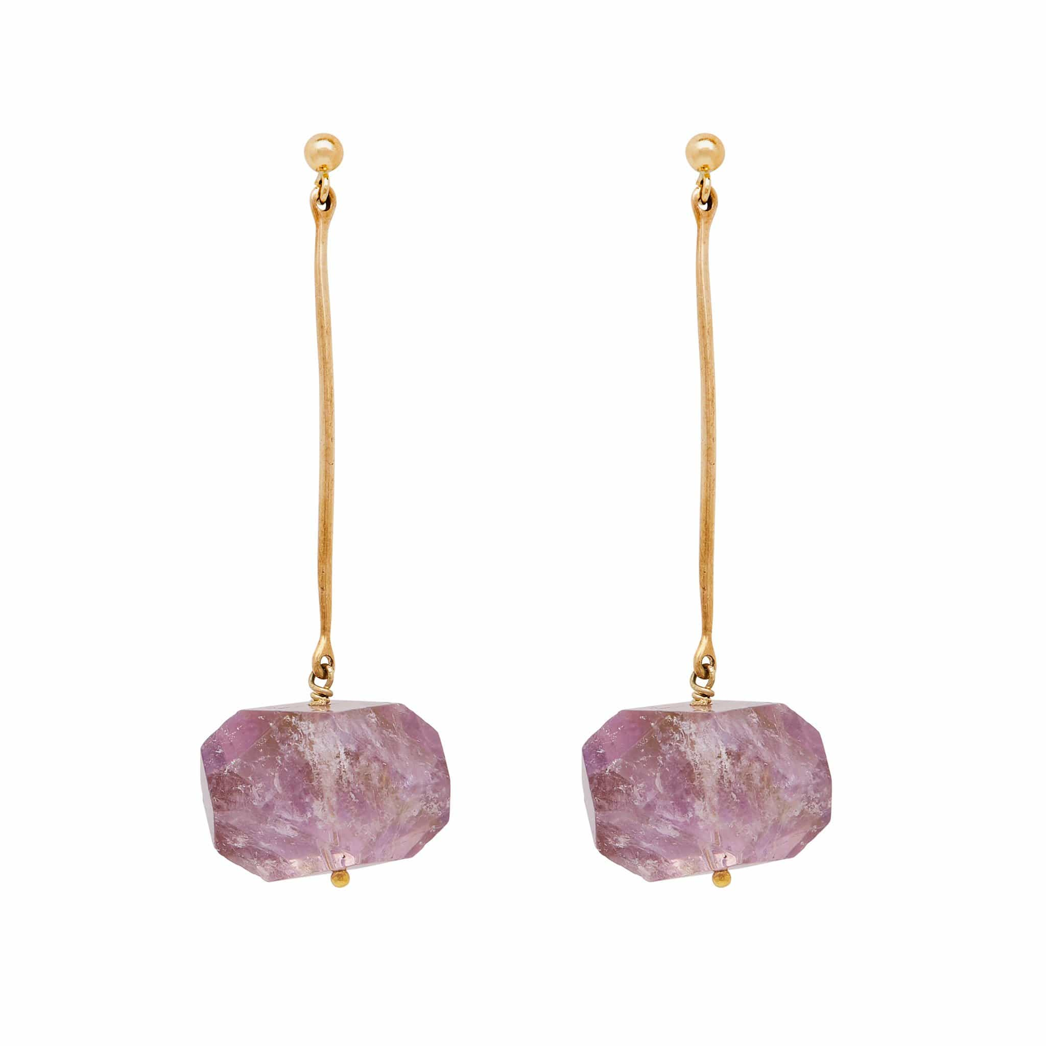 Julie Cohn Design. Bronze Ametrine Earrings.