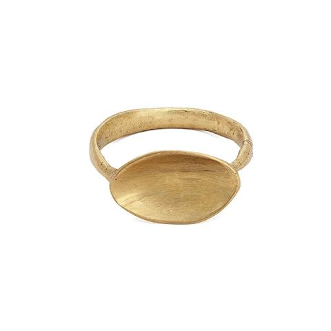 Shell Bronze Ring