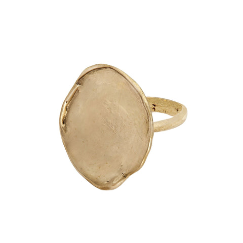 Lily Pad Bronze Ring