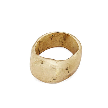 Julie Cohn Design. Bronze Asteroid Ring.