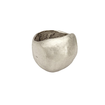 jewelry Meteor Ring Sterling Meteor Ring JCR127 Julie Cohn Design Artisan Bronze Jewelry Handmade