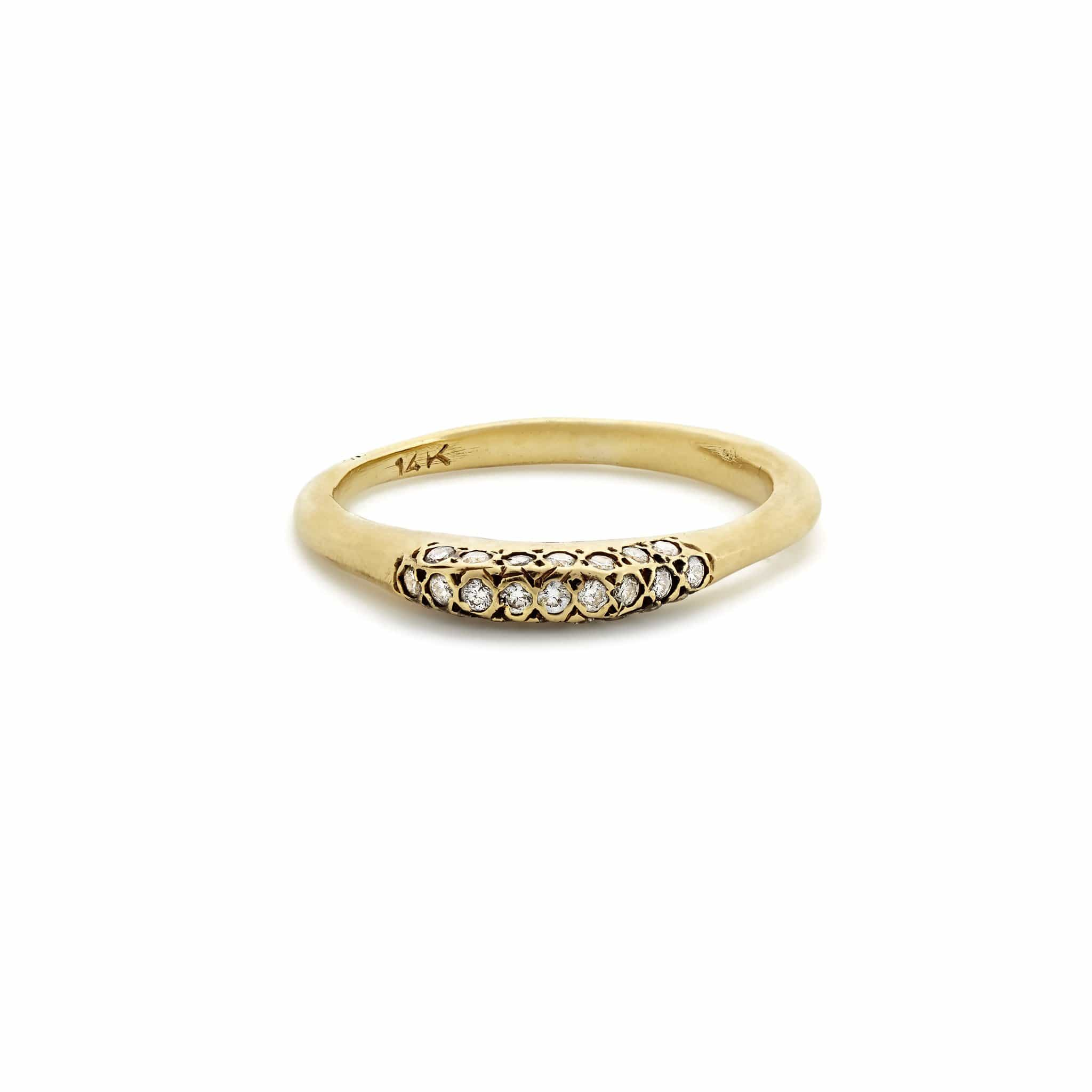 Glace Pave Ring