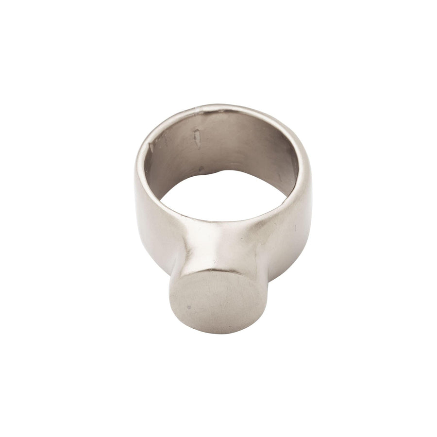 jewelry Silo Ring Silo ring sterling silver JCR139 Julie Cohn Design Artisan Bronze Jewelry Handmade