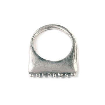 Sterling Caviar Slice Ring - Julie Cohn Design