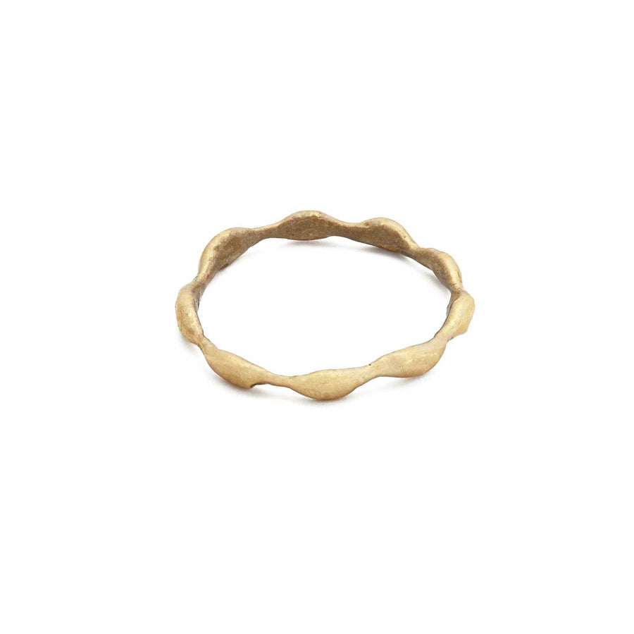 Julie Cohn Design. Bronze Seaweed band.